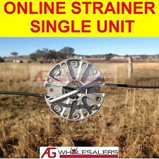 ONLINE STRAINER - SINGLE - NON RATCHET FOR TENSIONING FENCE WIRE INLINE