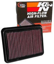 K&N 33-3062 HIGH FLOW AIR FILTER suit LANDCRUISER PRADO 2.8L T/DIESEL 1780111130