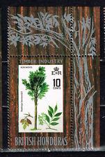 British Honduras Flora Rosewood Tree stamp 1969 MNH