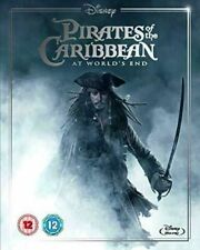 Disney Pirates Of The Caribbean At World's End Blu Ray New & Sealed Ltd Edition