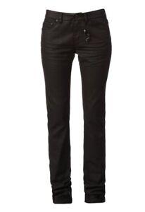 Jeans noir enduit IKKS taille 34/36 (25 US) neuf