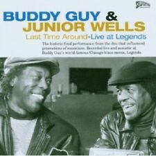 BUDDY GUY & JUNIOR WELLS - LAST TIME AROUND-LIVE AT LEGENDS  CD 10 TRACKS NEU