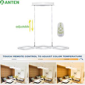 LED Pendelleuchte Dimmbar Hängelampe Esstisch Küchenlampe mit Fernbedienung 30W