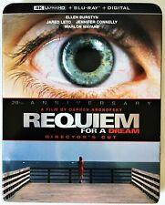 Requiem for a Dream 4K + blu-ray + slipcover + digital