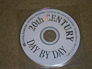 Dorling Kindersley 20th Century Day By Day 1996-1999 CD Rom