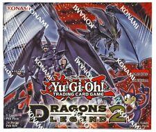Dragons of Legend 2 /24pk Booster Box Yu-Gi-Oh Sealed 1st edition Toon Kingdom