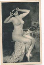 Erotik-Karte nackte Frau, Busen, Nude   (5)-(F26)