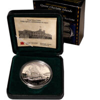 1999 Canada Proof Silver Dollar 225th Anniversary Queen Charlotte Islands