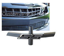 Front Grill Black SS Emblem Bowtie Delete Removes Logo fits 2010-14 Chevy Camaro