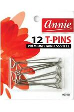 Annie #3140 Silver Stainless Steel T Pins