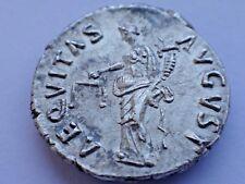 Nerva AR Denarius. Rome, AD 97.    3,20 gr/18 mm      43/625