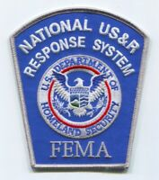 National USAR Response System NDMS Federal Emergency Management FEMA Patch No St
