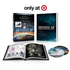 NEW INDEPENDENCE DAY RESURGENCE BLURAY DVD TARGET EXCLUSIVE DIGIBOOK + SLIPCOVER