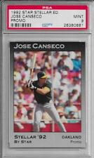 JOSE CANSECO (Oakland A's) 1992 Star Stellar PROMO (100 made) PSA 9 MINT
