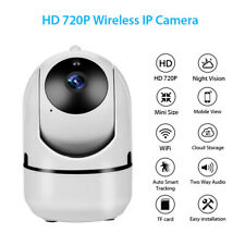 Mini Wireless WiFi IP Camera Motion Detection IR Auto Tracking Pet Dog Monitor