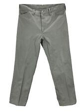 Vintage 60s Jc Penney Ranchcraft Gray Pants Sz 35x29
