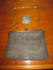 alte Tasche um 1900, Alpacca, Silbertasche, Handtasche, Abendtasche,  Vintage,