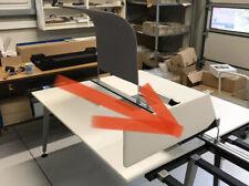 Sichtschutz Blende für Schreibtisch 160 cm K085