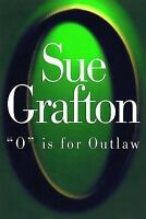 O IS FOR OUTLAW by Sue Grafton a Hardcover book FREE SHIPPING Kinsey Millhone