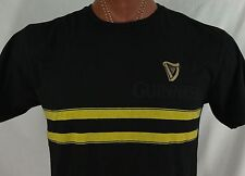 Guinness Black Support Our Firefighters 100% Cotton T Shirt L Large