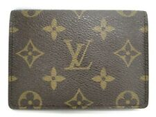 LOUIS VUITTON Card Case Porte 2 Cartes Vertical Monogram Spain 10170046900 P