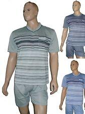 Herren  Schlafanzug  Shorty kurz  Pyjama Baumwollmischung Gr. M(48)-XXXL(56)