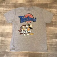 Space Jam Tune Squad Looney Tunes Bugs Daffy Taz Wile. E Coyote Men's T Shirt 2X