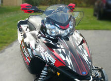 POLARIS IQ SHIFT RMK DRAGON sled graphics custom wrap kit #2500 Red