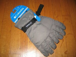 NEW Columbia Youth Mountain Home Core Gray Gloves Size Small Grey NWT Boy Girl