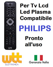 Telecomando universale compatibile per TV PHILIPS Lcd Led Smart TV tipo Original