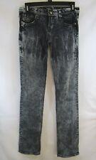 ReRock For Express Grey Women's Jeans Labeled Size 4 Embellished Pockets