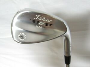Used RH Titleist Vokey SM7 F Grind 46.10° Wedge Titleist Steel Shaft Wedge Flex