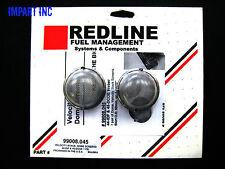 Weber Redline 44 IDF & 45 DCOE Velocity Stack Dome Screen 1 pair  99008.045