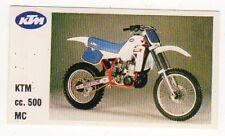 figurina MOTOR SHOW BAGGIOLI 1986 NEW numero 102 KTM MC