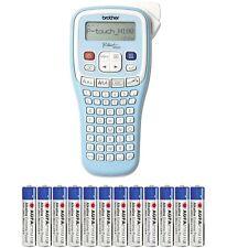 Brother Beschriftungsgerät P-touch PT-H100LB Schriftband TZ 3.5 6 9 12 + 12x AAA
