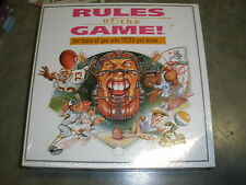 1995 Rules of The Game sports trivia board game