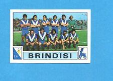 PANINI CALCIATORI 1975-76-Figurina n.380- SQUADRA/TEAM - BRINDISI -Rec
