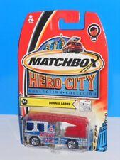 Matchbox 2004 Hero City Fire Series #34 Dennis Sabre Fire Truck Silver