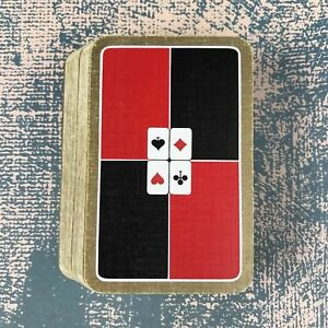 Vintage Playing Cards Waddingtons Suits Clubs Spades Hearts Diamonds
