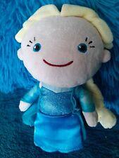 Disney Store FROZEN ELSA Plush Doll Cape Satin Skirt Coin Hand Bag