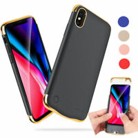 External Battery Case for iPhone X 5500mAh Portable Charger Power Bank Cover