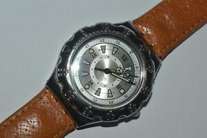 Vintage Swatch Irony SCUBA Watch YDS100 SEALIGHTS 1997 Swiss Unisex Original