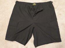 QUARTERMASTER Law Pro SHORTS Mens LARGE Black Six Pocket Super BDU Uniform USA L