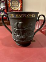 Royal Doulton Urn Loving Cup The Mayflower Pilgrim Fathers England 1970 Rare