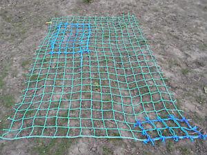 7x 5ft HEAVY DUTY cargo rope scramble net 4tree house play climbing frame safety