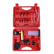 Hand Held Vacuum Pressure Pump Tester Set Brake Fluid Bleeder Bleeding Kit Car