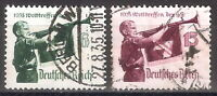 DR Nazi 3rd Reich Rare WW2 WWII Stamp Hitler Jugend Swastika Flag Rune S Uniform