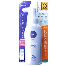 NIVEA SUN Super Water Gel Sunscreen Pump 140g with Hyaluronic Acid SPF50 PA+++