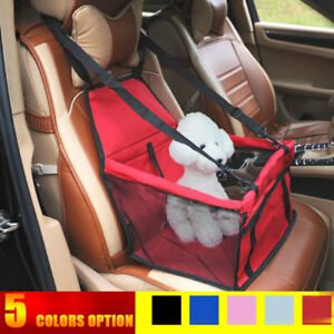 Portable Mesh Dog Car Seat Cover Pet Safe Mat Cushion Folding Bag for Cat Puppy