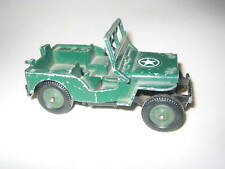 BRITAINS LTD ARMY JEEP MADE IN ENGLAND